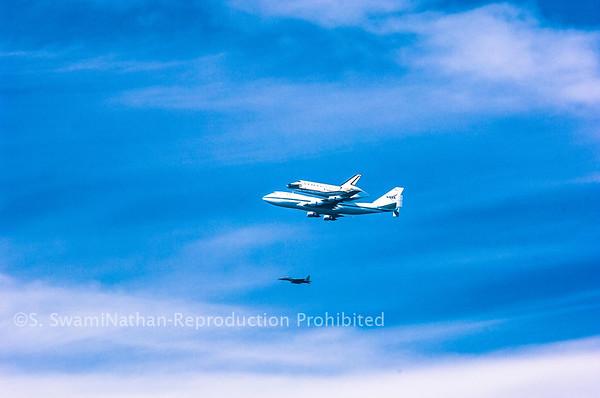 Final Fligh of the Space Shuttle, Sunset Beach, CA