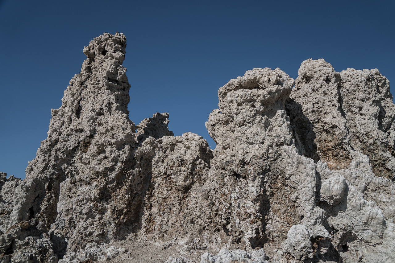 Tufa, towers of limestone at Mono Lake