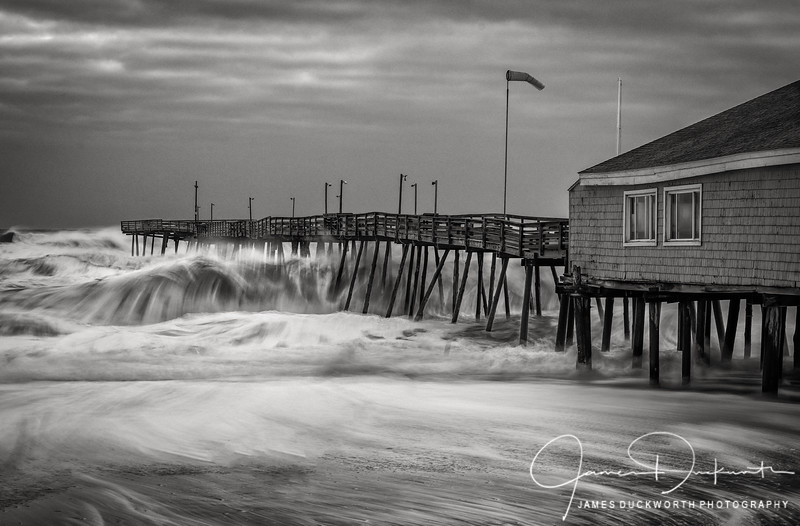 Stormy Morning at the Outer Banks