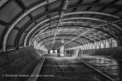 Tunnel Vision 1 (Monochrome)