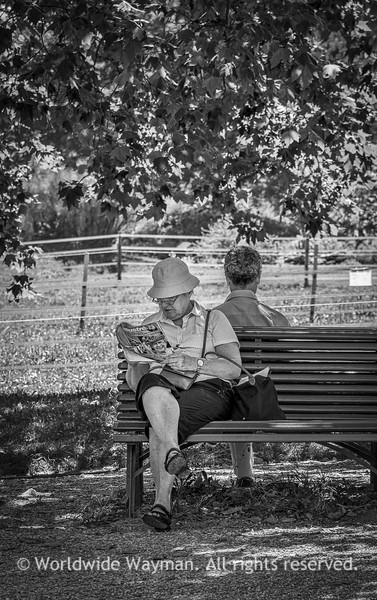 Park Bench People