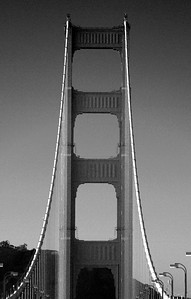 Golden Gate Bridge Tower San Francisco California - © Simpson Brothers Photography