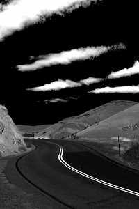 Tesla Road leaving Tracy California - © Simpson Brothers Photography