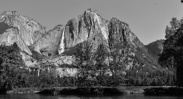 Cathedral Spires from Merced River
