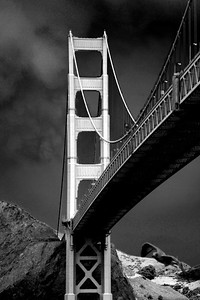 Looking at the Golden Gate Bridge toward Marin - © Simpson Brothers Photography