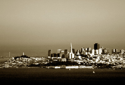 City Scape of San Francisco California - © Simpson Brothers Photography