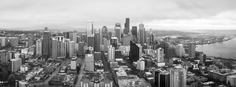 Seattle in Black & White