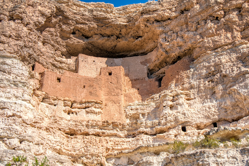 Montezuma Castle, a series of caves and man-made rooms