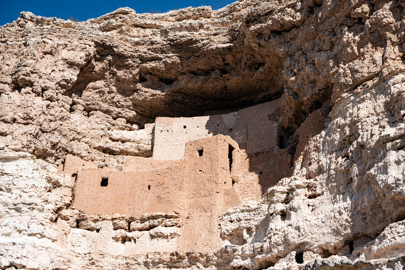 The terraces of Montezuma Castle