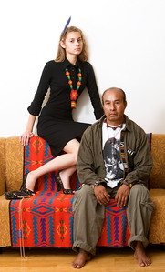 Modellid Sandra ja Epifanio Garcia Ramirez.