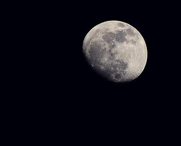 Gibbous Moon from last week (2/4/2012)