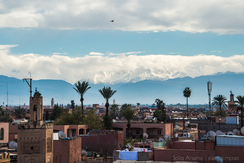 High Above Marrakech