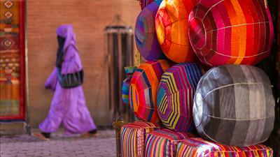 Woman in Marrakech market