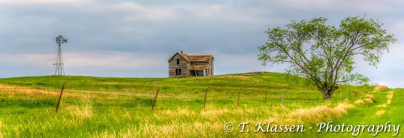 An abandoned farm in rural central South Dakota, USA.