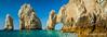 The Los Arcos rocks at Land's End  near Cabo San Lucas, Baja, Mexico.