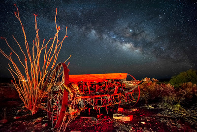 Farm Seeder and the Milky Way