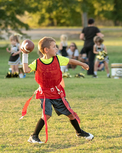 Crawford Flag Football - 1st and 2nd Grade 10-1-2018