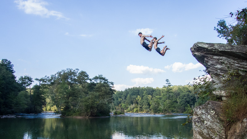 Chattanooga Deep Water Soloing