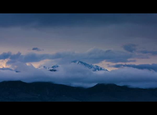 Longs Peak Time-lapse