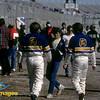 Derek Bell, Al Unser Jr<br /> Pre-Race 24 Hrs Daytona, 1986 Kodachrome Porsche Cayman Series, HSR Porsche Cayman Series, HSR