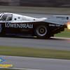 Lowenbrau Porsche 962<br /> Derek Bell, Al Holbert, Chip Robinson,  24 Hrs Daytona, 1986 Kodachrome