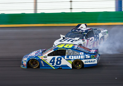 AUTO: JUL 08 NASCAR Monster Energy Cup Series - Quaker State 400