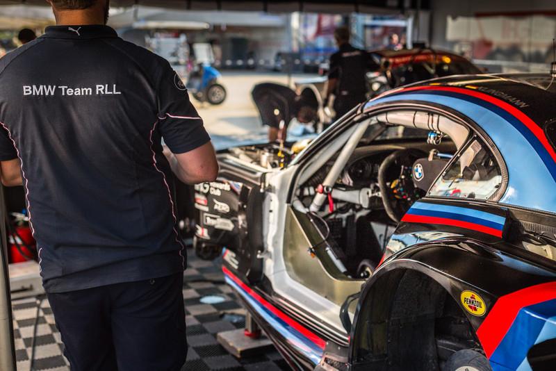 #24 Team RLL BMW Z4 GTE