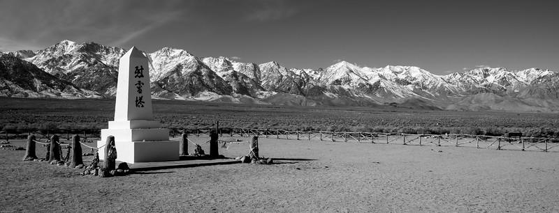 Manzanar Relocation Camp Cemetery Monument