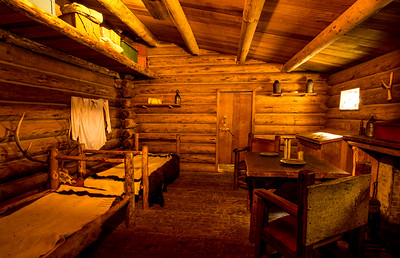 Officers Quarters Fort Clatsop - Lewis And Clark