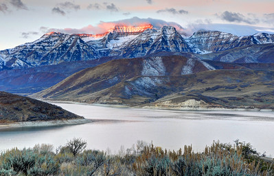 Mt. Timpanogos Winter Sunrise