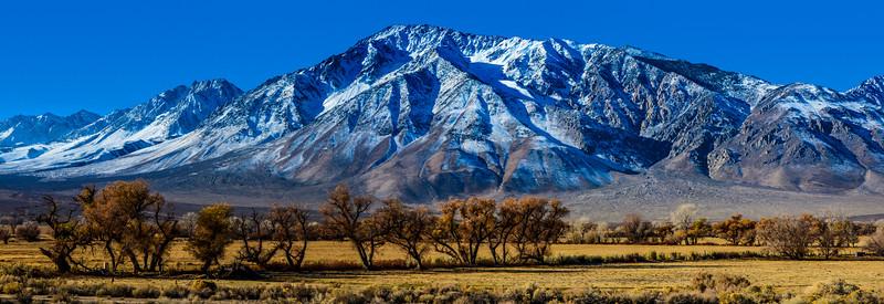 Eastern Sierra Nevada Panorama - Bishop - California
