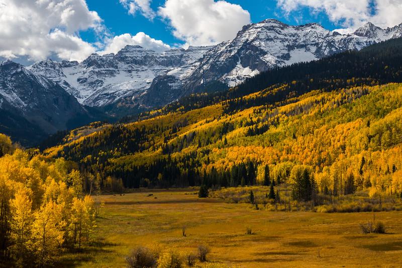 Sneffels Range Autumn - Dallas Divide - Colorado