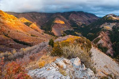 Cloudy Provo Peak - Utah