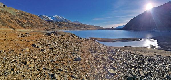 Lago di Montespluga, 1° gennaio 2016