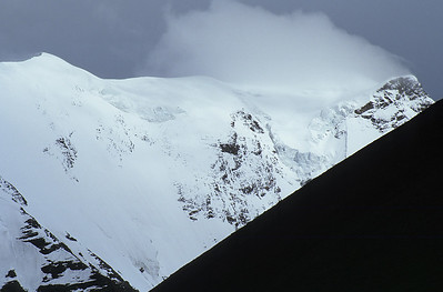 The Noijin Kangsang (7.206m) from Karo-La (5.036m), Tibet