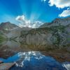 Final Burst Snowmass Lake