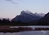 Sunset near Banff, Canada