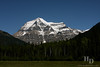 Mt. Robson, tallest peak in British Columbia.