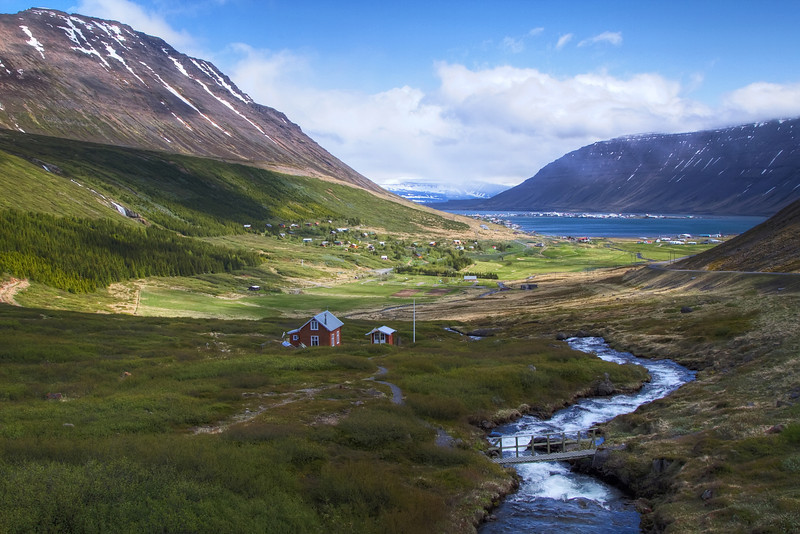 <H3> Summer Cottages </H3> On the outskirts of remote Westfjords town of Isafjordur