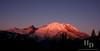 Rainier National Park at Sunrise.