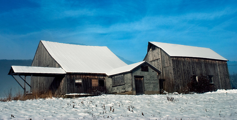 Waterville Farm Barn 1883