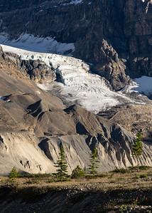 Glacier Tongue and Pleated Moraine