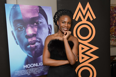 London - 07/02/17; Noisettes singer Shingai Shoniwa attending the screening of Moonlight.