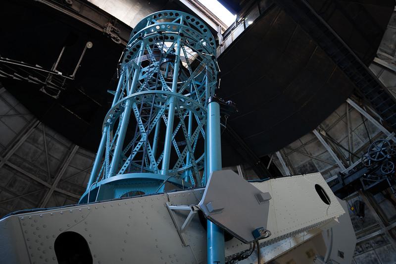 100-inch telescope at Mt. wilson