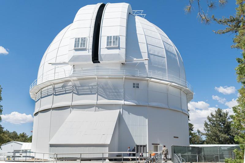 100-inch telescope at Mr Wilson