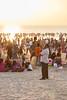 Sunset Crowd at Juhu