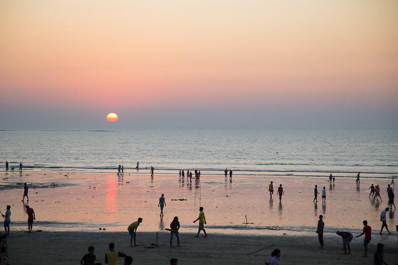 Juhu Beach Sunset