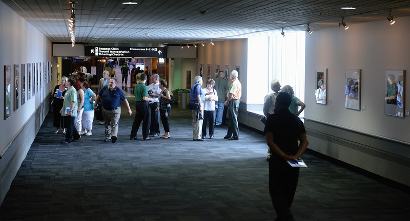 CPS Photo Exhibit at Cleveland Hopkins Airport