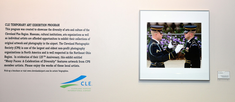 Changing of the Guard by Ron Skinner - CPS Photo Exhibit at Cleveland Hopkins Airport