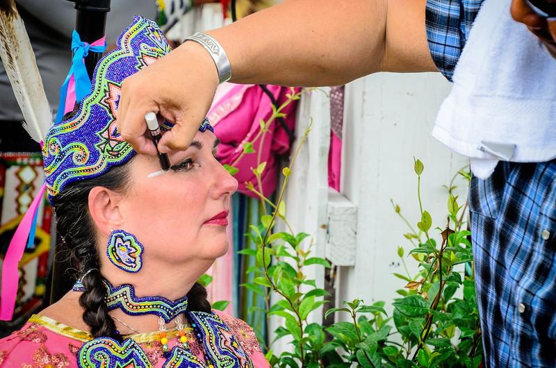 Application of Facial Markings